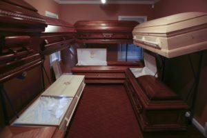 Casket Selection Room
