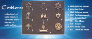 Emblems (bronze)